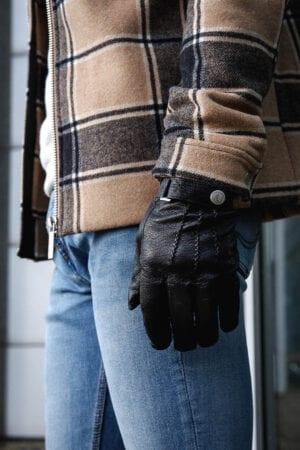 Frickin Jack heren handschoenen zwart 12