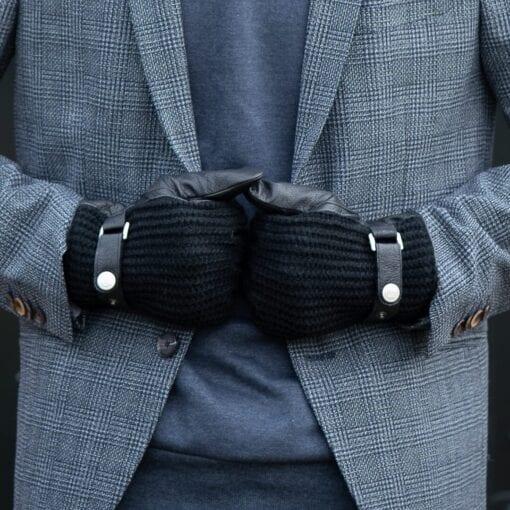 Frickin Ace heren handschoenen zwart wol 6