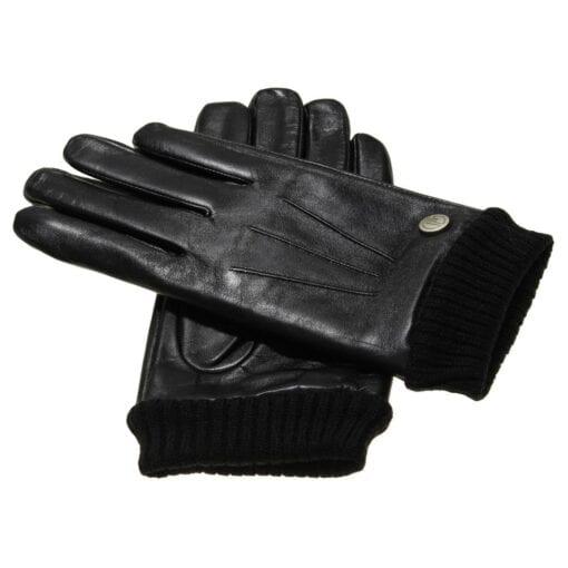 Dean lLeren Heren Handschoenen gevoerd