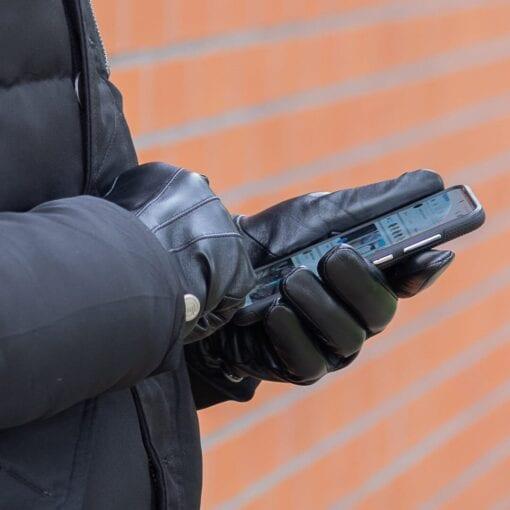 Frickin Dean heren handschoenen zwart 4
