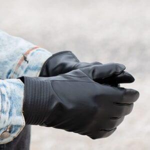 Frickin Dex heren handschoenen zwart 4