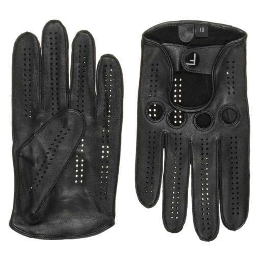 F1 Fahrhandschuhe exklusive Herren Leder Auto Handschuh