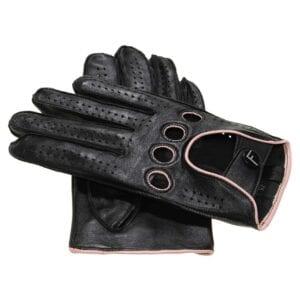 F1 Driving gloves (Zwart-geel) dames autohandschoenen