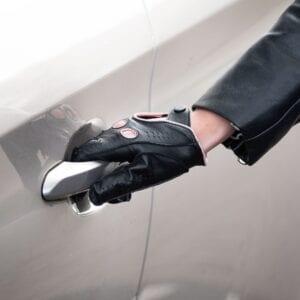 Frickin F1 Driving gloves autohandschoenen zwart roze 6