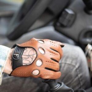 Frickin GT Driving gloves autohandschoenen camel 5
