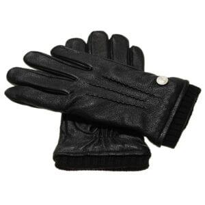 James warme winter handschoenen zwart