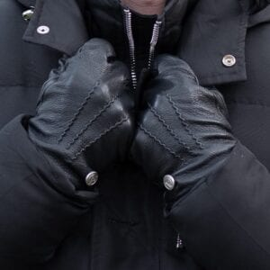 Frickin James heren handschoenen zwart 4