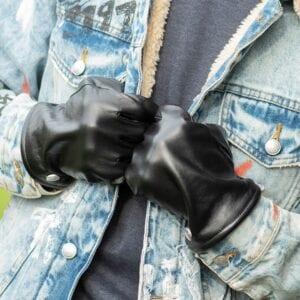 Frickin Jesse heren handschoenen effen zwart 6