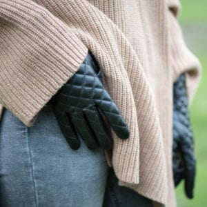Frickin Joy dames handschoenen zwart 6