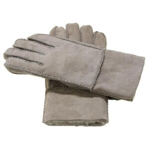 Liv Elite suede leren dames handschoenen grijs