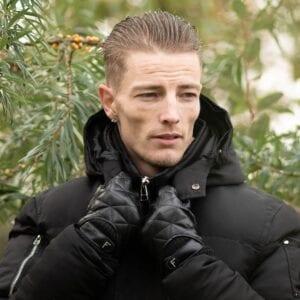 Frickin Logan heren handschoenen zwart 4
