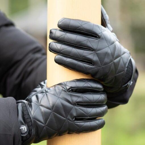Frickin Logan heren handschoenen zwart 6