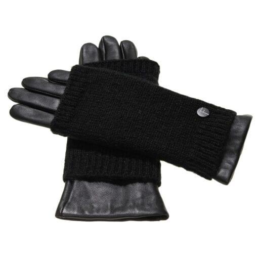 Noah dames vegan leren handschoenen met sleeve