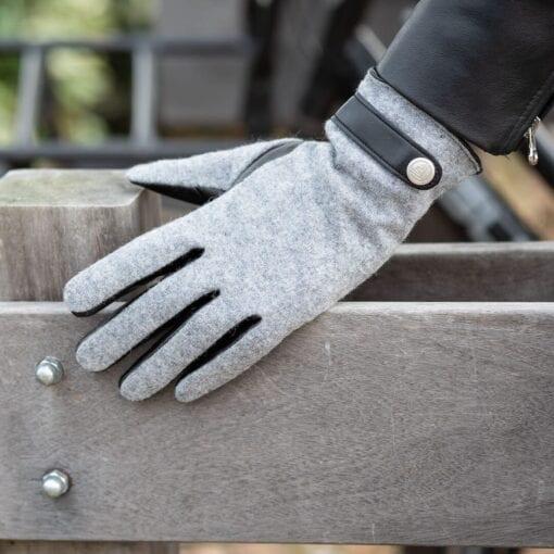 Frickin Roxy dames handschoenen grijs 4