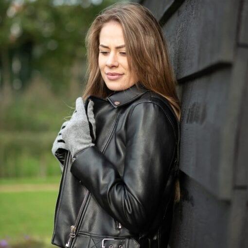Frickin Roxy dames handschoenen grijs 5