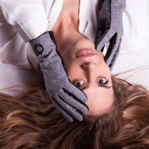 Frickin Roxy dames handschoenen grijs 7