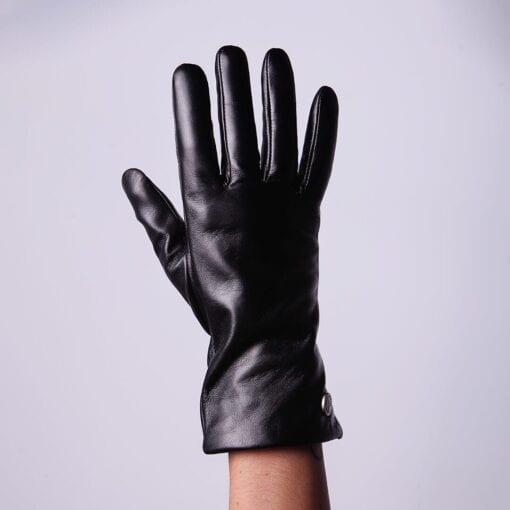 Frickin Ava Damen Lederhandschuhe in Farbe schwarz