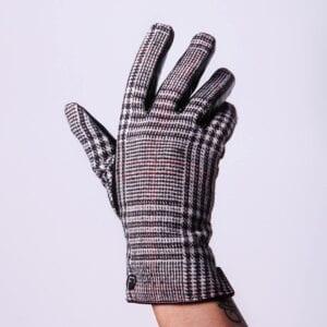 Frickin Britt vegan leren handschoenen met motief