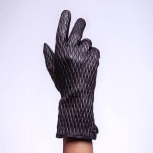 Frickin Jade Elite leren dames handschoenen met motief