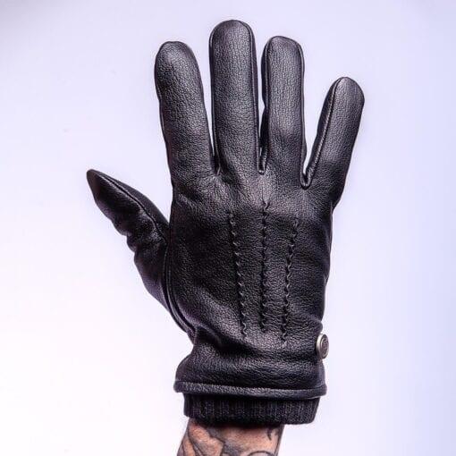 Frickin James warme winter handschoenen zwart