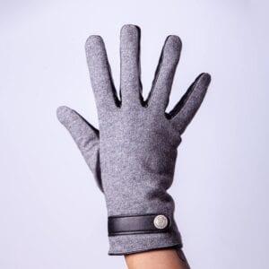 Frickin Roxy Dames Eco Lederen Handschoenen met button