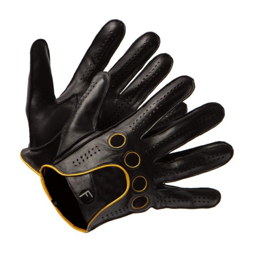 Leather Car Gloves Ladies without Lining