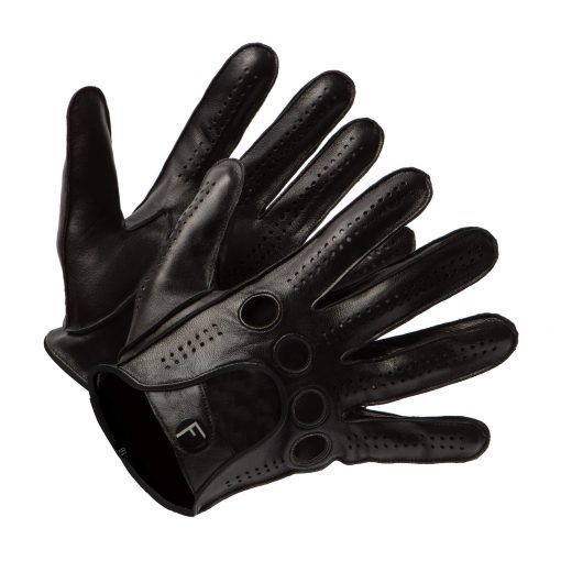 Leather car gloves