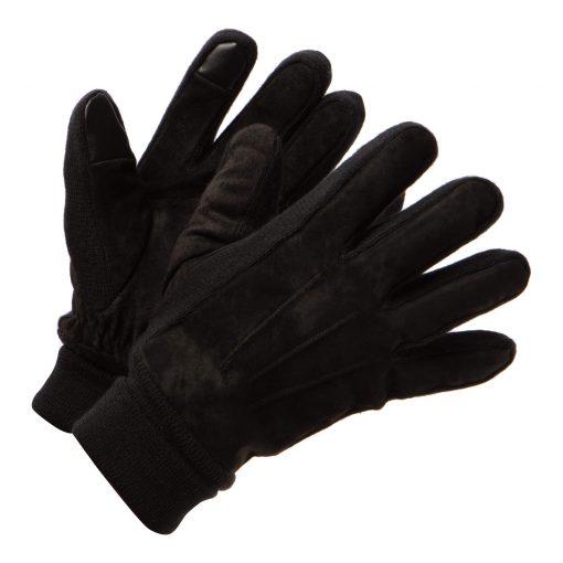 Suede Gloves Men