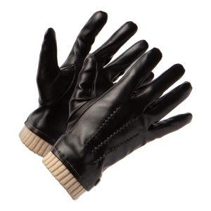 vegan leather gloves men